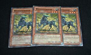 Yugioh Wroughtweiler DR04-EN012 NM//MINT 3X Common Unlimited