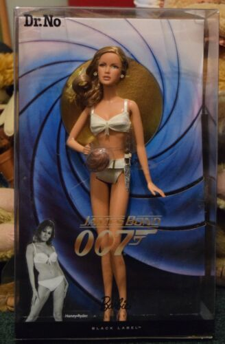 2009 DR. NO HONEY RYDER James Bond 007 Barbie Darya BLACK LABELR4464NRFB