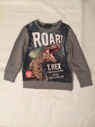 Boy Jumper TRex Tyrannosaurus Rex Tyrant Lizard King Jumper Size 6-7 Years
