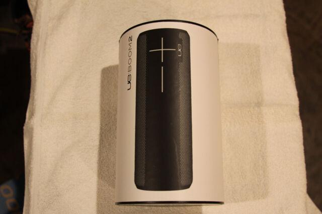UE BOOM 2 Phantom Wireless Mobile Bluetooth Speaker Waterproof/Shockproof Black