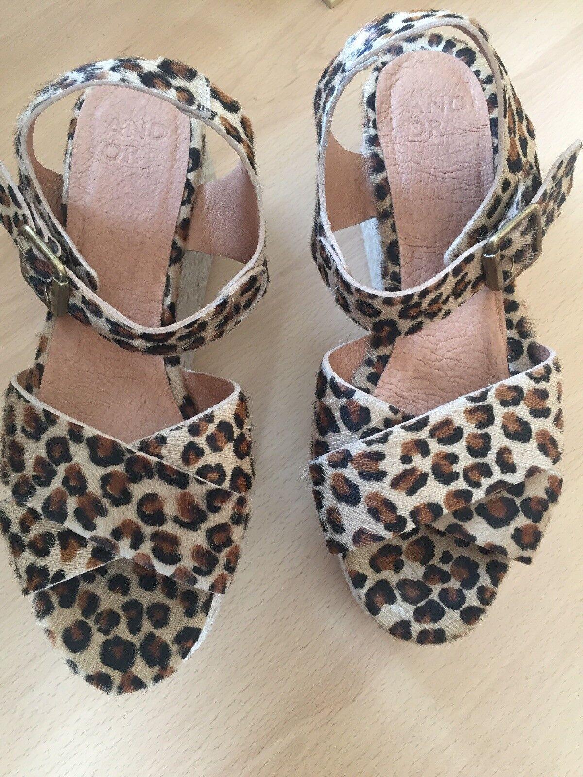 Patrón de leopardo Diseñador iaera iaera iaera Plataforma Sandalias De Damas Talla 6 39  encuentra tu favorito aquí