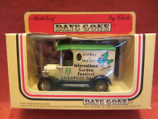 LLEDO   Days-Gone  Ford Model ' T ' Van  Cream  #6009 Garden Festival  NIB  (8)