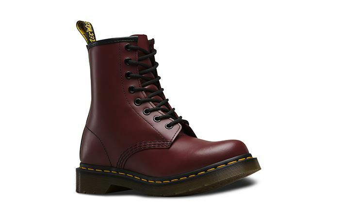 Dr. Marten 1460 Women's Cherry Red  Smooth boots 11821600   Fast Shipping L