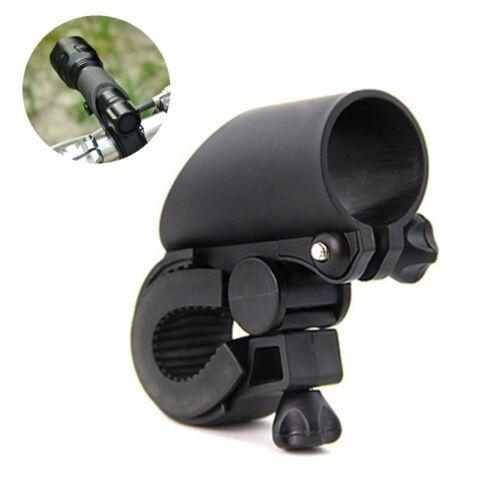 Hot Bicycle Bike Flashlight Light Mount Clip 360 Degree Rotate LED Torch Holder