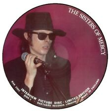 """Sisters Of Mercy Interview Picture Disc Uk 12"""""""