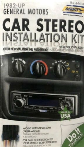 Metra IBR-444GM Car Stereo Installation Kit 1982-Up GM NEW