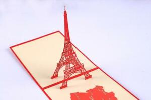 Holiday birthday origami handcrafted greeting cards france eiffel image is loading holiday birthday origami handcrafted greeting cards france eiffel m4hsunfo