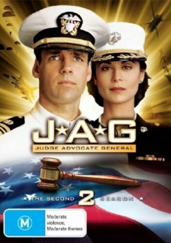 1 of 1 - JAG : Season 2 (DVD, 2007, 4-Disc Set)