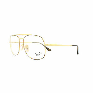 a45e5be8fa3 Ray-Ban Glasses Frames 6389 The General 2945 Tortoise Gold 55mm Mens ...