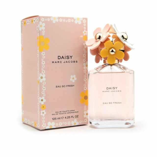 Marc Jacobs Daisy Eau So Fresh 4.2 oz Eau De Toilette Spray Perfume Women New HS