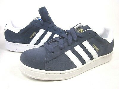 ADIDAS CAMPUS II K YOUTH FASHION SNEAKERS,034928,NAVY/WHITE,US SIZE 7,EUR  40 98092405773 | eBay