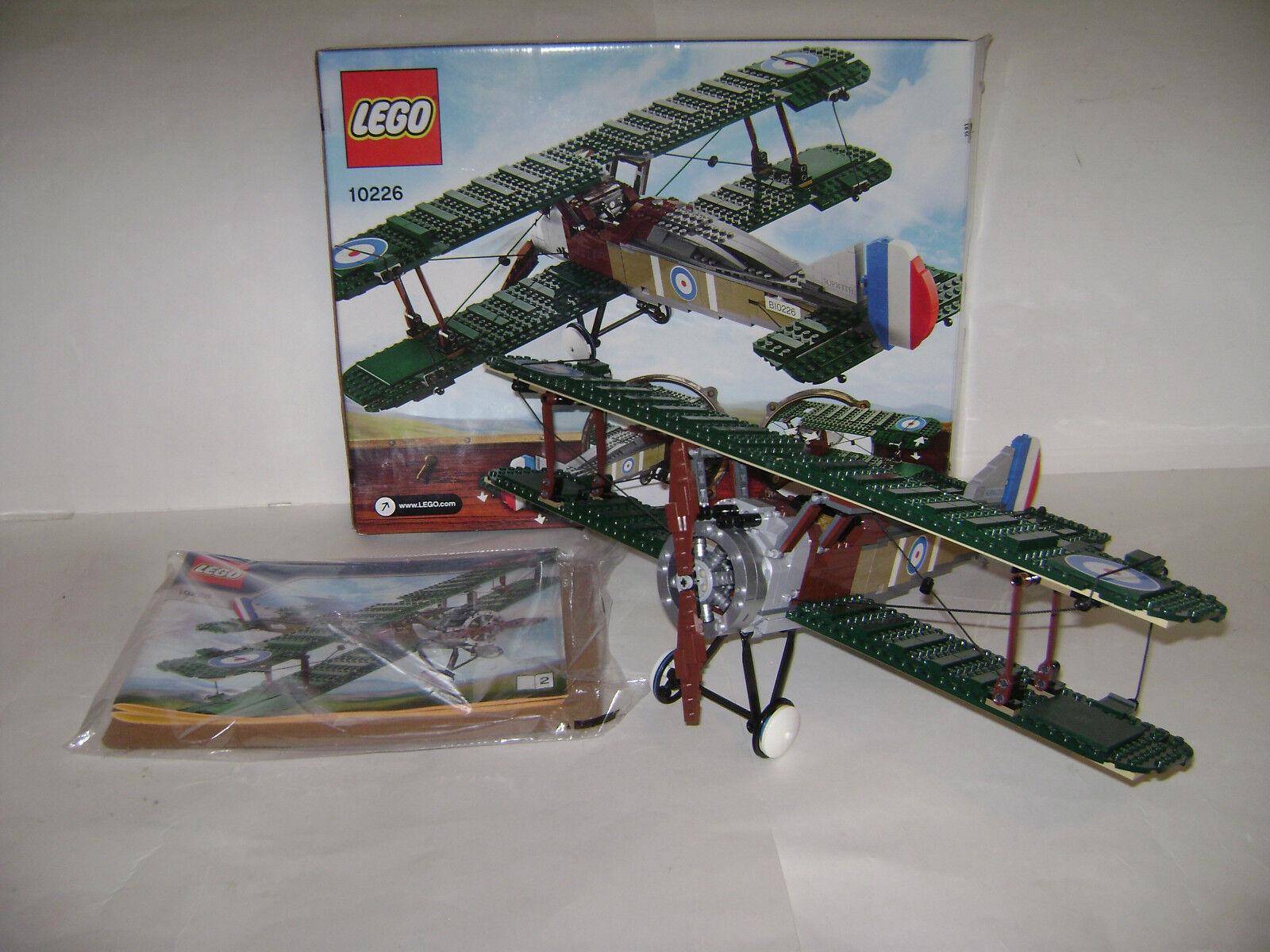 LEGO 10226 Sopwith Camel Grün Bi Plane Plane Plane Building Toy RETIROT RARE a9ac3e
