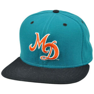 d948e7700 Image is loading NFL-Miami-Dolphins-Vintage-Old-School-Flat-Snapback-
