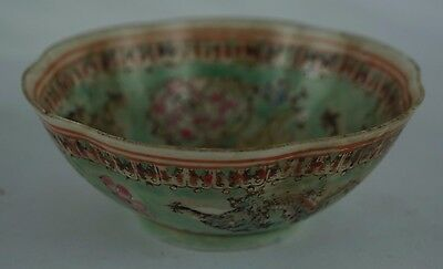 """Antiques y8-w6-a9 Exquisite Antique Chinese Very Thin Porcelain Marked Bowl 4"""""""