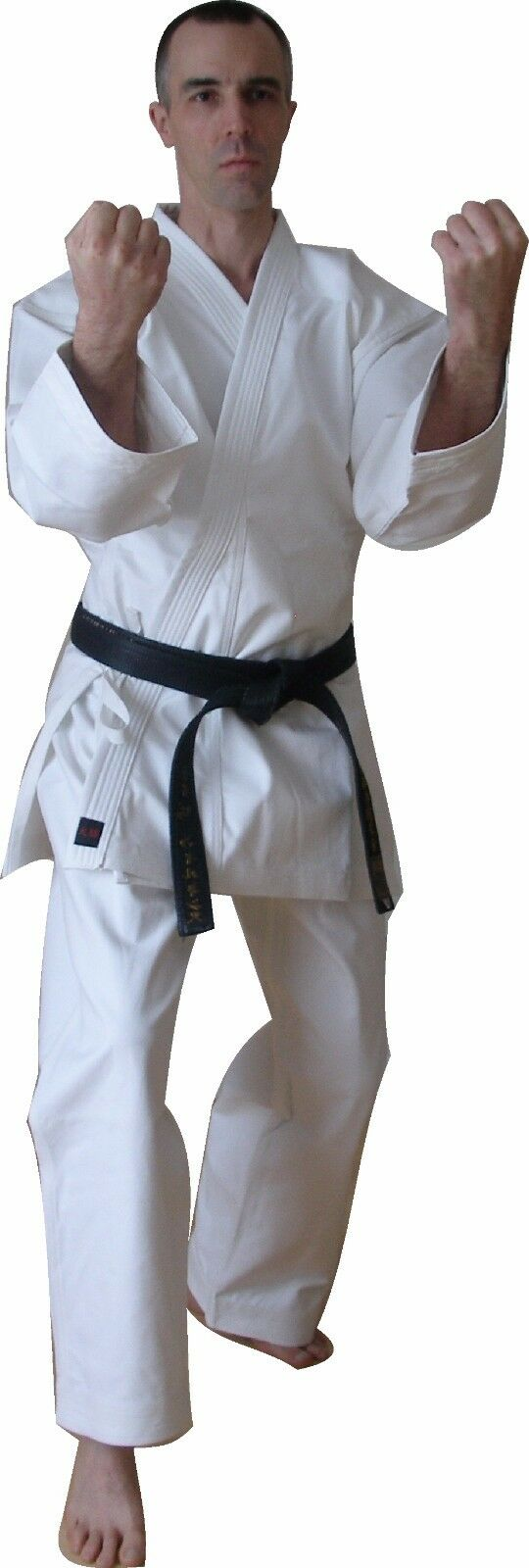 KARATE SUITS - HEAVYWEIGHT (16oz) - WHITE - Sizes from 160cm to 190cm - cotton