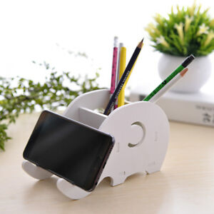 Desk Accessories & Organizer Cell Phone Stand Cute Elephant Phone Stand Tablet Desk Bracket With Pen Pencil Holder Compatible Smartphone Desk Decoration Mu