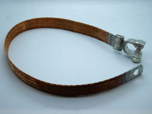 Masseband 21,2 qmm 500 mm Polklemme Batterie Masse Band earth strap with clamp