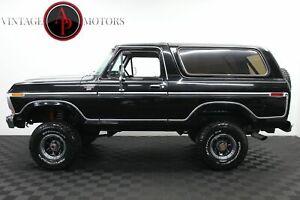 1978 Ford Bronco RANGER XLT V8 AUTO! AC