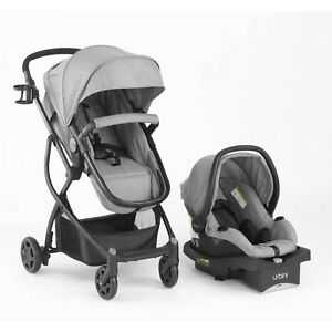 Image Is Loading Urbini Omni 3 In 1 Travel System Convertible
