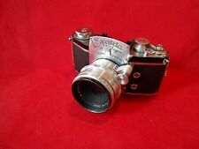 Exakta Varex Kamera mit Carl-Zeiss Biotar 2/58mm Nr.485268 Umbau selten