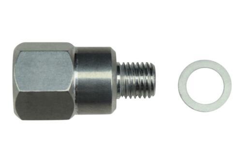 LS Swap Coolant Temperature Sensor Sending Unit Adapter M12 to 3//8 NPT LS1 5.3
