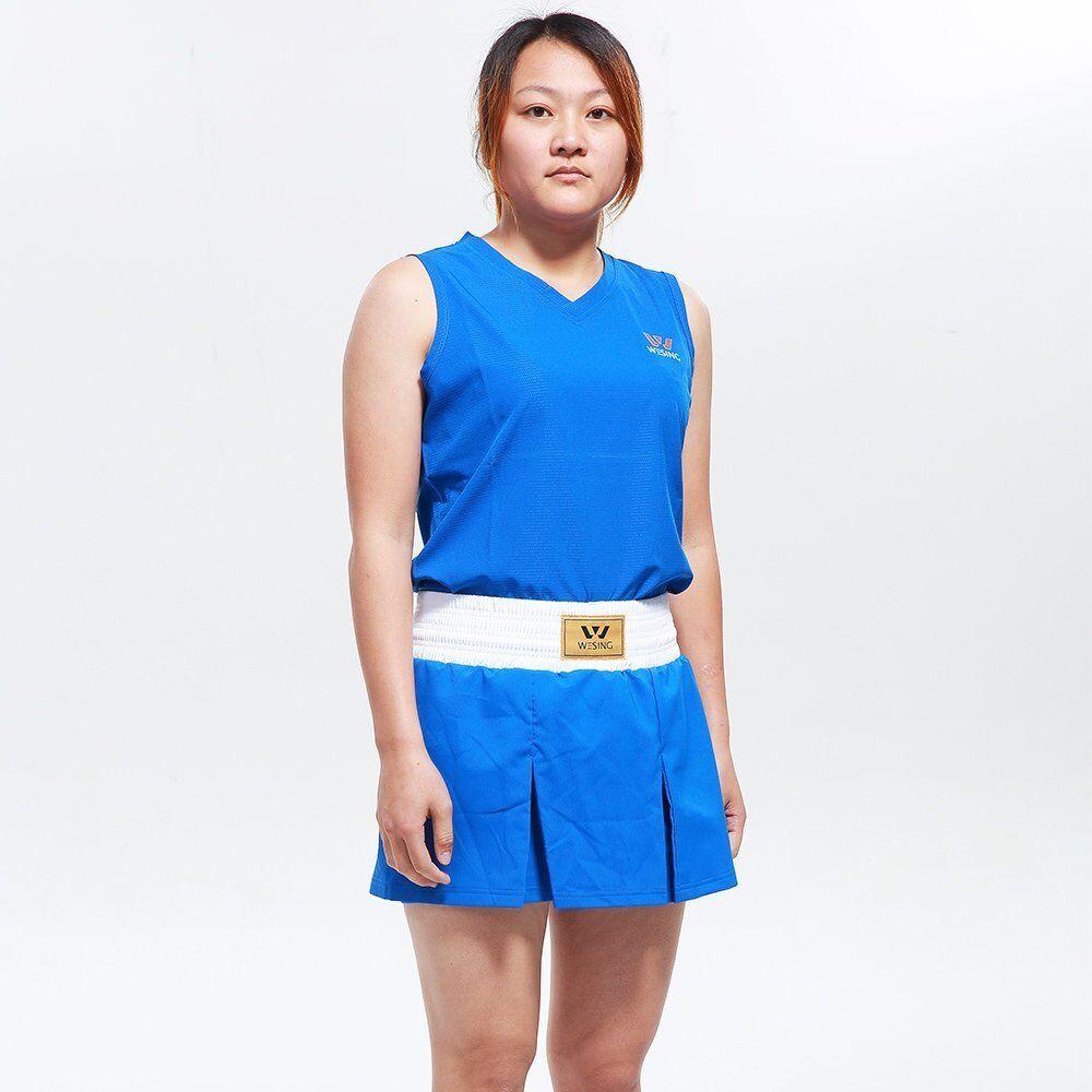 Wesing woman boxing suits Skirt Style female boxing uniform boxing clothing