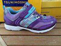 Tsukihosi Purple/light Blue Lightweight Soft Sneakers Youth Size 5 Sale