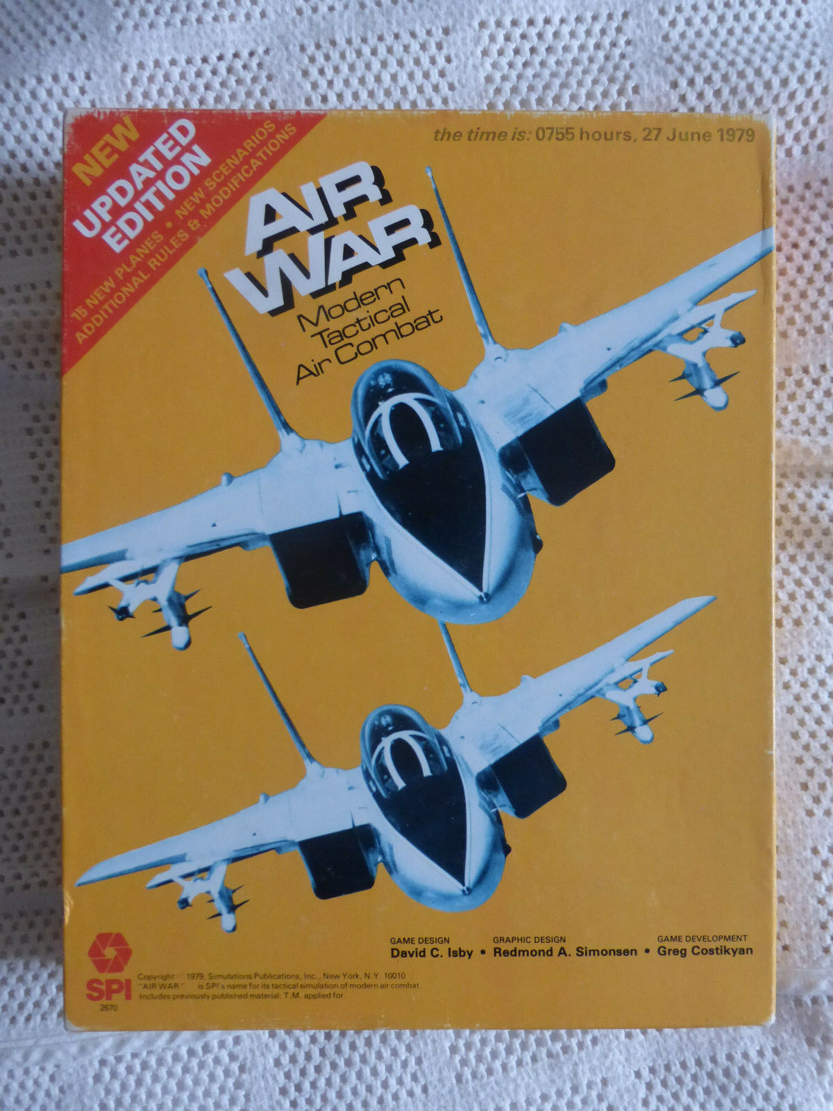 Air War Complete by SPI  Tactical Air Game
