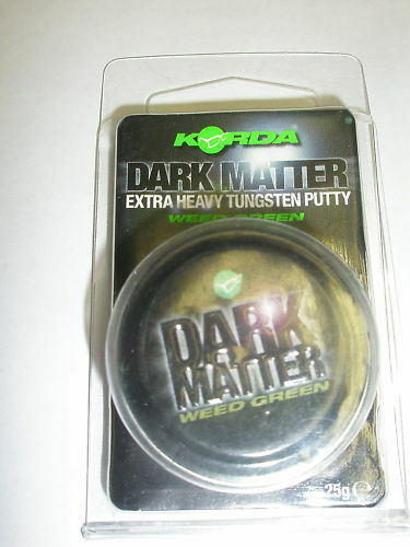 Korda Dark Matter Tungsten Putty WEED Carp fishing