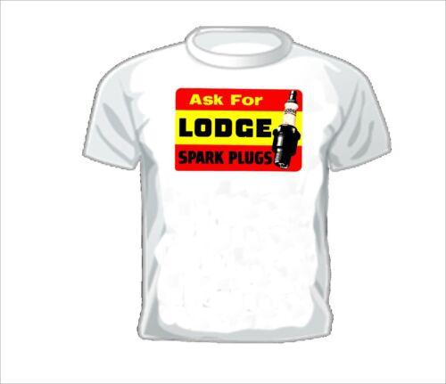 Vintage Race T-shirt LODGE SPARK PLUGS