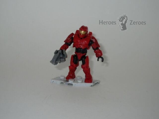 Halo Mega Construx Set #FDY52 UNSC FDY52 Red Spartan Rogue with Shotgun