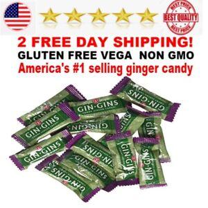 Ginger-People-Original-Ginger-Chews-2-lb-Bag-candy-gluten-free-vegan-non-gmo-NEW