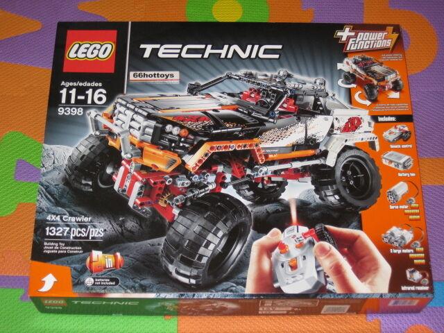 LEGO TECHNIC 9398 4X4 Crawler 2 in 1 NEW