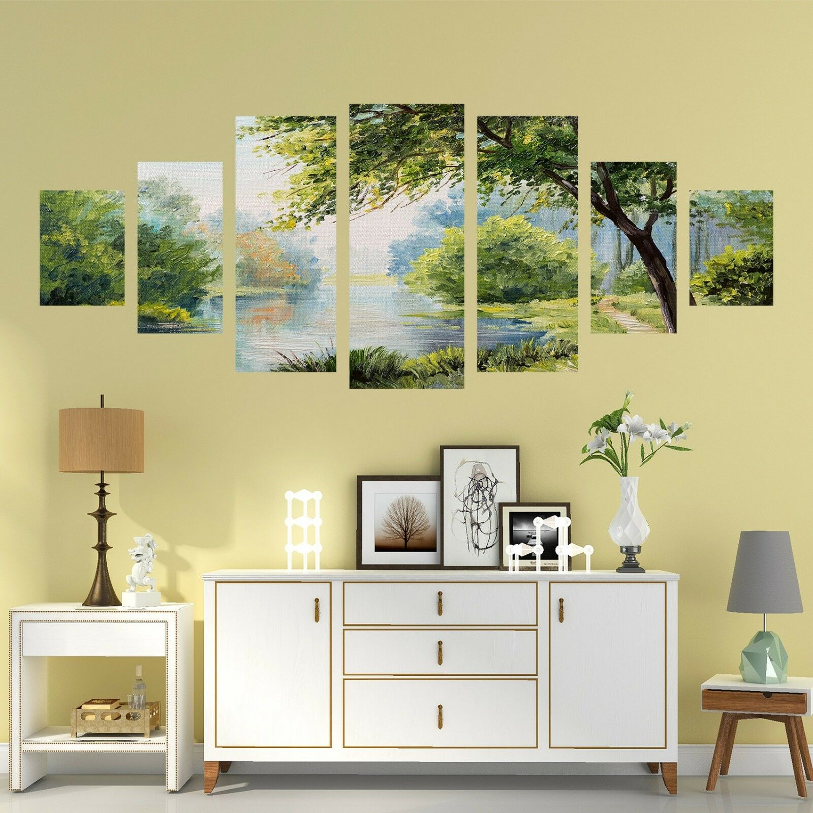 3D Natural View 576 Unframed Print Wall Paper Decal Wall Deco Indoor AJ Wall