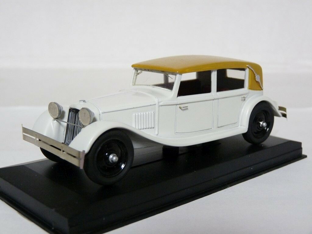 Hynek Knopp C43-18 1 43 1935 TATRA 70 A Cabrio Handmade Résine Voiture Modèle