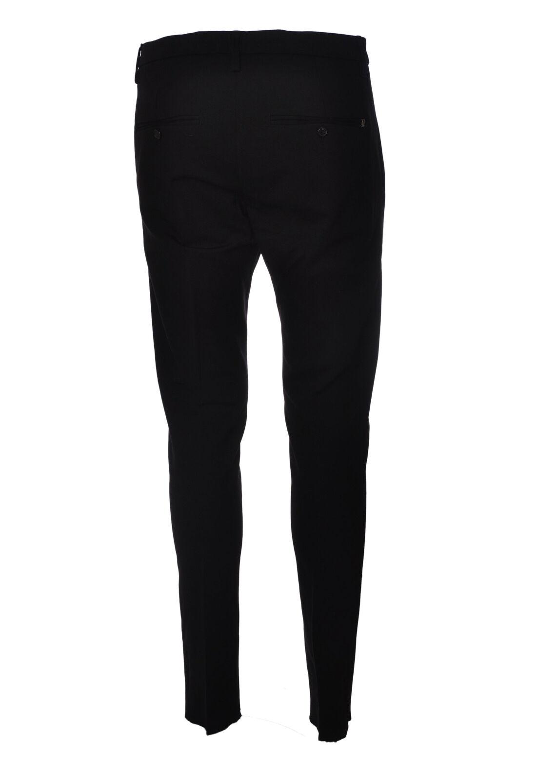 Dondup - Jeans-Pantaloni slim fit - Uomo - Nero Nero Nero - 4027413A193723 eb0910
