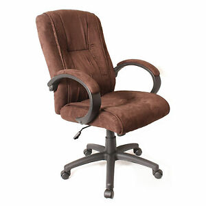 Comfort Products Padded Microsuede Office Chair Ebay