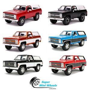 Jada-1-24-Just-Trucks-1980-Chevrolet-Blazer-K5-6-Colors