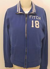 Abercrombie & Fitch Mens Large Jacket Full Zip Track Blue Muscle 18 men's NWOT