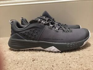 d8b02101 Details about Under Armour Bam Trainer Team Bank Size 11 3020790-100  Gray/white