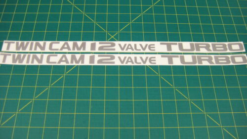 Daihatsu Charade GTti Twin Cam 12 Valve Turbo Decals stickers Tianjin Xiali G112