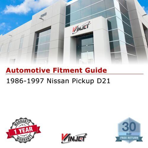 Winjet Factory Fit For 1986-1997 Nissan Pickup D21 Brake Tail Lights Black