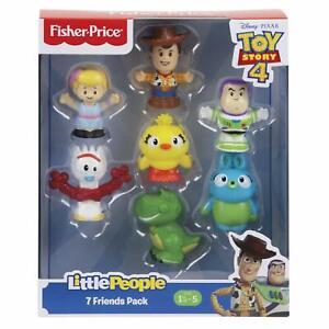 Disney-Toy-Story-4-Little-Gente-7-Figura-Personaje-Paquete-Figuras-Fisher-Price