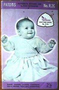 Patons-Knitting-Book-Babies-Book-No-R26