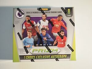 EPL Soccer Panini Prizm Choice box (8 cards) 2020-2021 - sealed