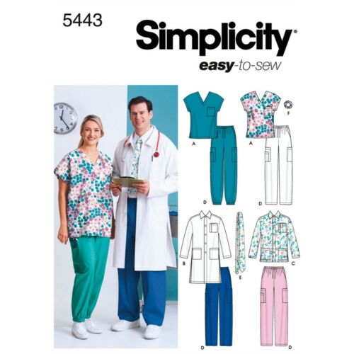 Simplicity Women/'s And Men/'s Scrub Top,-s,m,l