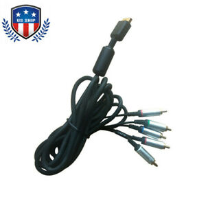 Original-3m-HD-Component-Video-Cable-Replacement-For-Sony-PlayStation-PS2-PS3-US