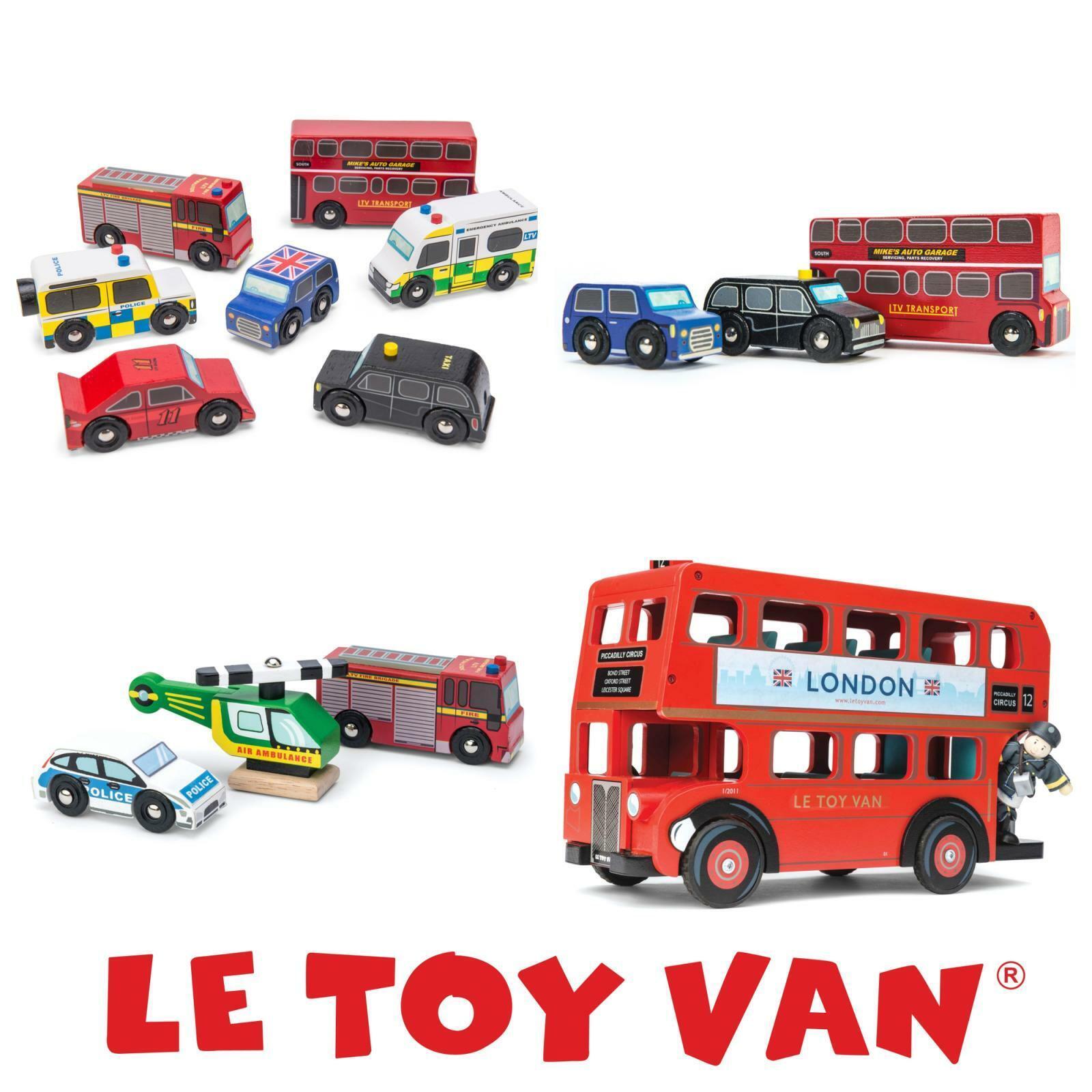 Le Toy Van semblant jouer en bois enfants jouets éducatifs London Voiture véhicule BUS