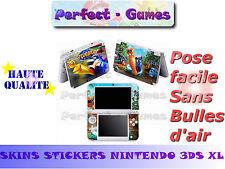 Skin sticker auto-collant vinyl turbo escargot pour console nintendo 3DS XL LL