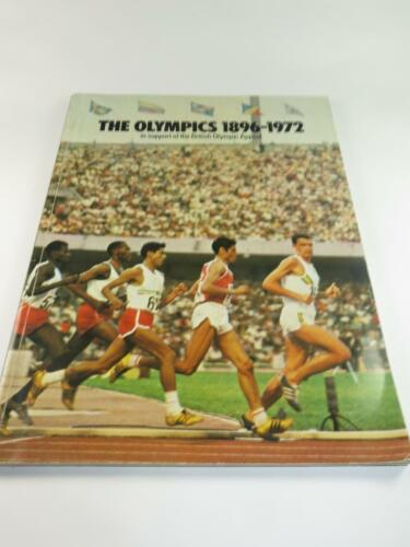 EMPTY UNUSED Esso Collector Album THE OLYMPICS ACTION COLLECTION 1896 1972